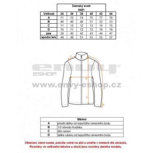 Dámský svetr NORDBLANC PLACID NBWFL6481 KRÉMOVĚ BÍLÁ
