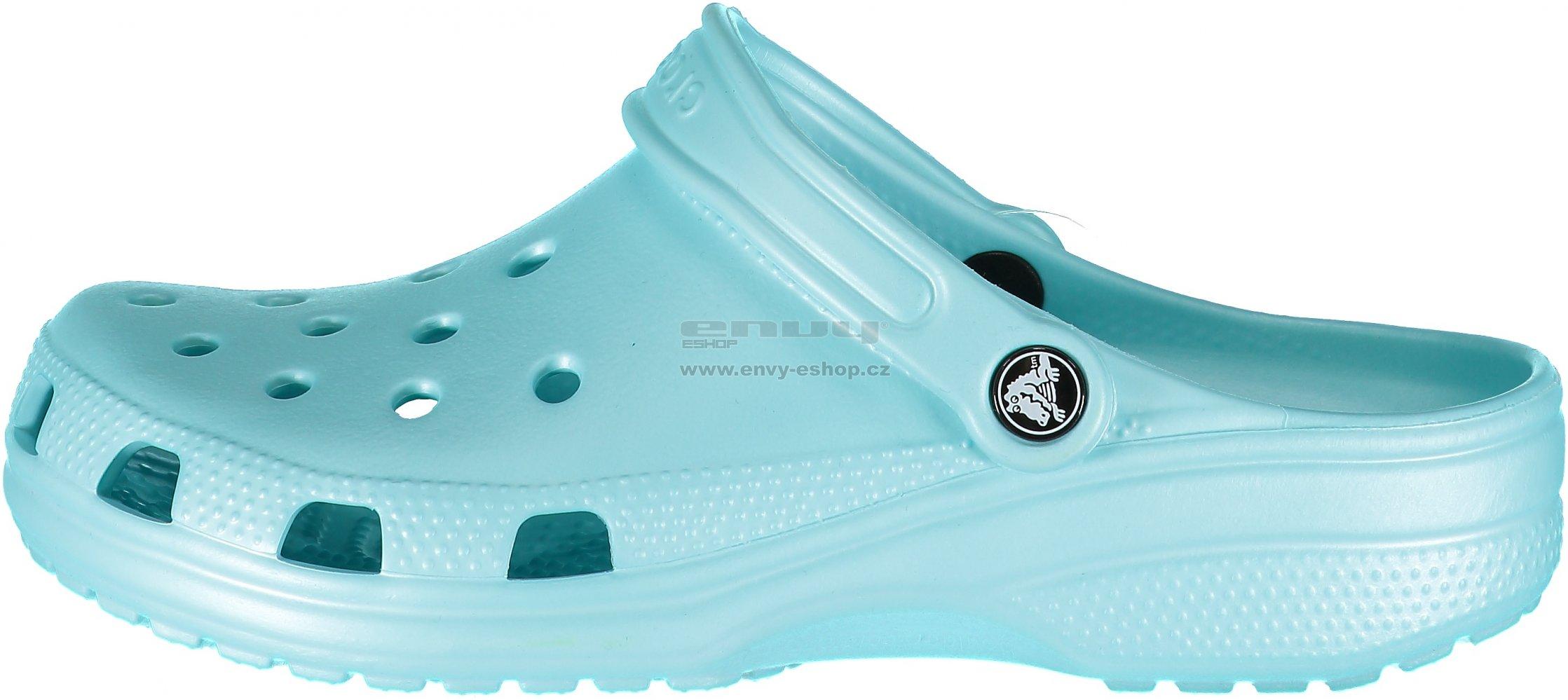 ba1abf1ec01 Dámské pantofle CROCS CLASSIC 10001-4O9 ICE BLUE. Dámské pantofle CROCS  CLASSIC 10001-007 LIGHT GREY ...