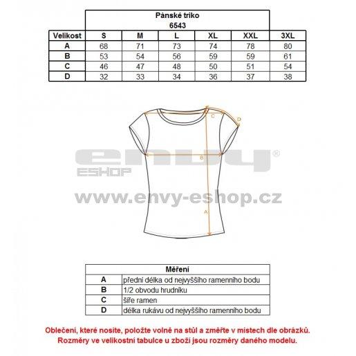 Pánské triko NORDBLANC HATCH NBFMT6543 HLUBOCE ČERVENÁ