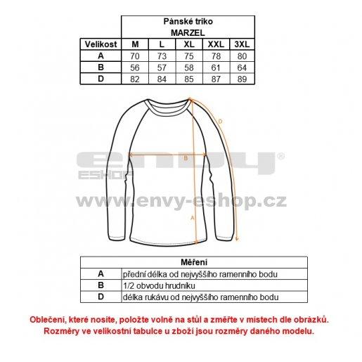 Pánské triko ALPINE PRO MARZEL MTSK273 ZELENÁ