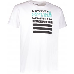 Pánské triko NORDBLANC BUCK NBFMT6542 BÍLÁ