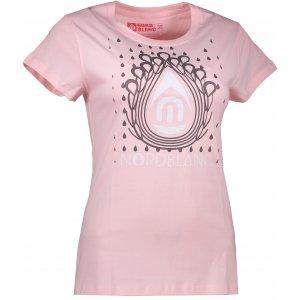 Dámské tričko NORDBLANC DROP NBFLT6560 SVĚTLE RŮŽOVÁ
