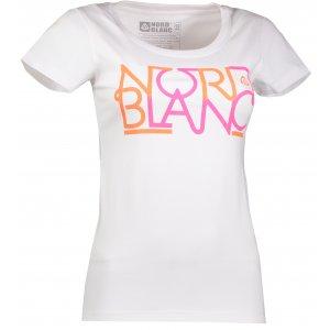 Dámské tričko NORDBLANC ROUTE NBFLT6557 BÍLÁ