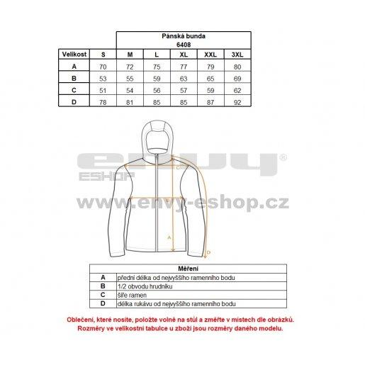 Pánská zimní bunda NORDBLANC ROOF NBWJM6408 ZELENÁ JEŠTĚRKA