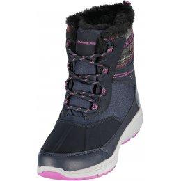 Dámská zimní obuv ALPINE PRO FRADA LBTK156 ČERNÁ