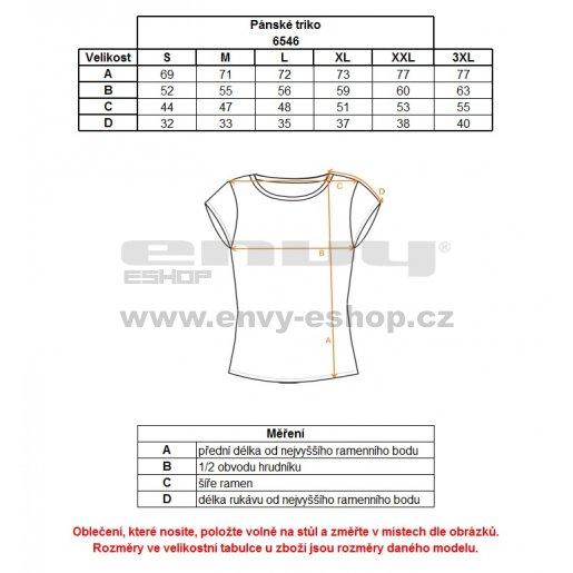 Pánské triko NORDBLANC TITLE NBFMT6546 TEMNÁ MODRÁ
