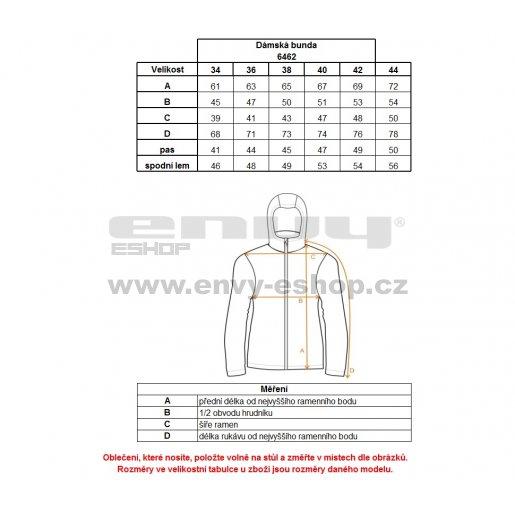 Dámská softshellová bunda NORDBLANC FUSTIAN NBWSL6462 ČERNÁ/MODRÁ