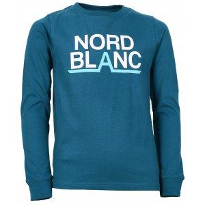 Chlapecké tričko NORDBLANC BALK NBFKT6570L BAKOVA MODRÁ