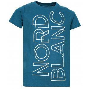 Chlapecké tričko NORDBLANC FRAME NBFKT6572S BAKOVA MODRÁ