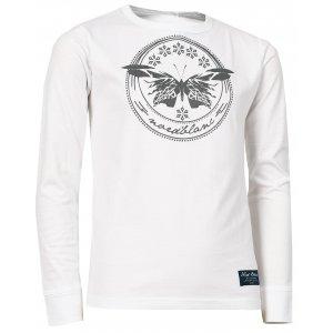 Dívčí tričko NORDBLANC EDEN NBFKT6573S BÍLÁ