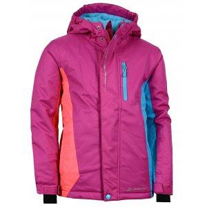 Dětská lyžařská bunda ALPINE PRO WIREMO KJCK077 RŮŽOVÁ
