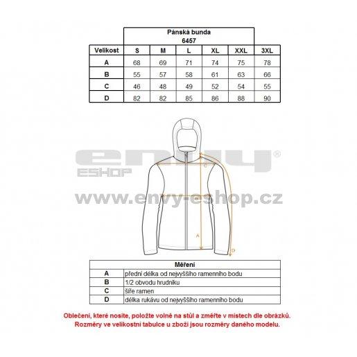 Pánská softshellová bunda NORDBLANC SHELL NBWSM6457 BAKOVA MODRÁ