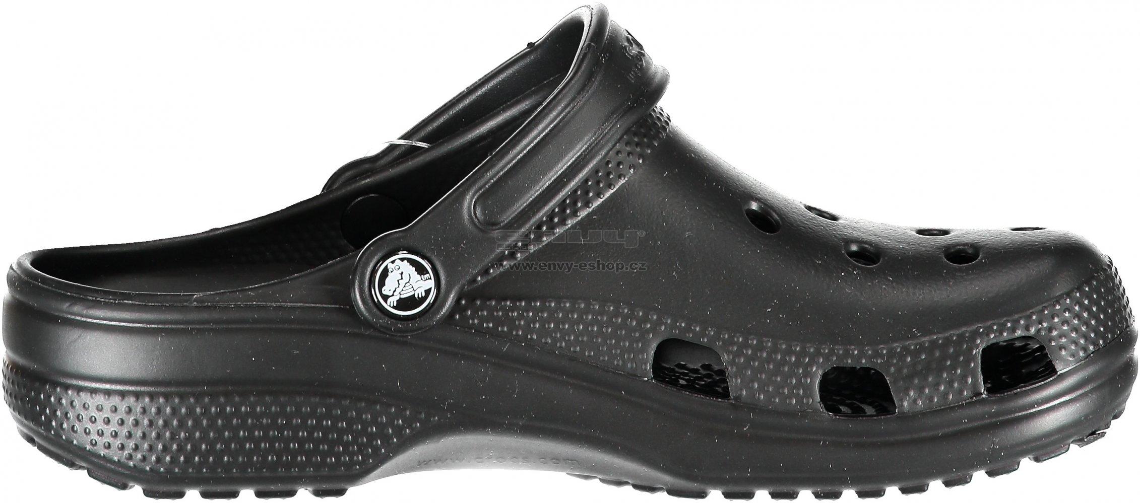c41bd671d10 Dámské pantofle CROCS CLASSIC 10001-001 BLACK velikost  37-38   ENVY ...
