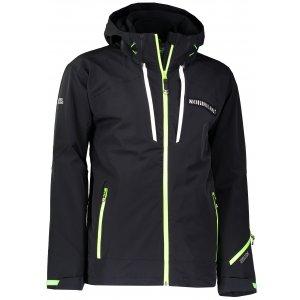 Pánská lyžařská bunda NORDBLANC BULLET NBWJM6400 ČERNÁ