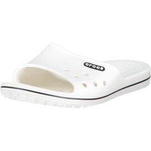 Pánské pantofle CROCS CROCBAND II SLIDE 204108-103 WHITE/BLACK