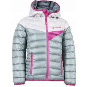 Dětská zimní bunda ALPINE PRO SOPHIO KJCK072 ŠEDORŮŽOVÁ