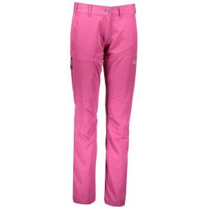Dámské outdoorové kalhoty NORDBLANC LUCID NBFPL6491 TMAVĚ RŮŽOVÁ