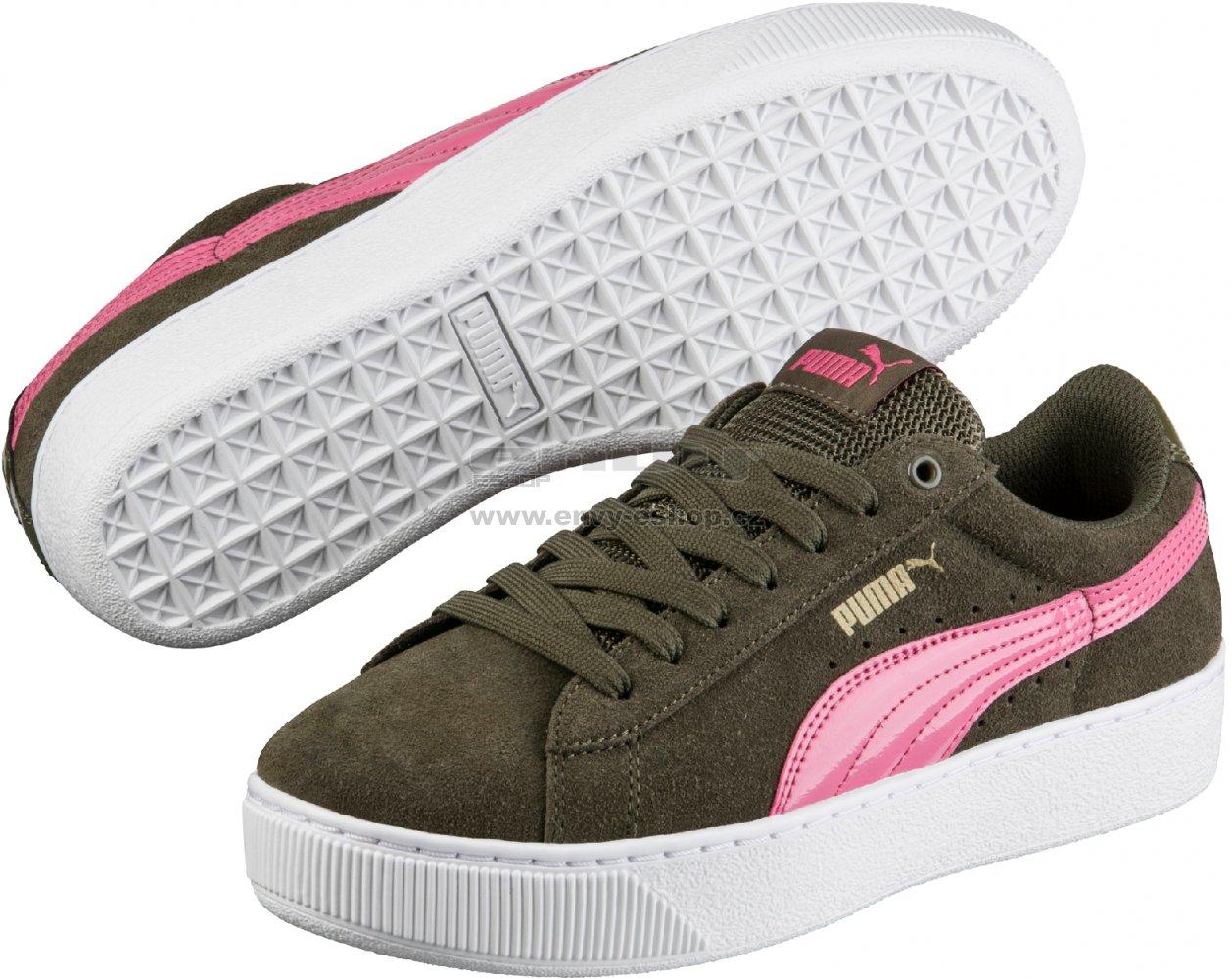 Dámská obuv PUMA VIKKY PLATFORM 36328707 OLIVE NIGHT velikost  EU 38 ... 736fccc541f