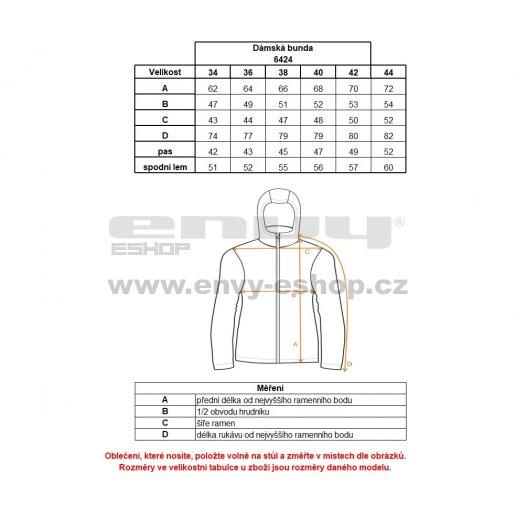 Dámská zimní bunda NORDBLANC SHOWY NBWJL6424 JASNĚ ZELENÁ
