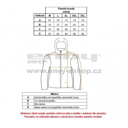 Pánská softshellová bunda ALPINE PRO JOKIN MJCK253 ČERNÁ