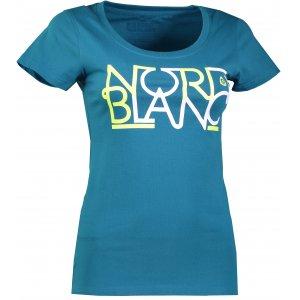 Dámské tričko NORDBLANC ROUTE NBFLT6557 BAKOVA MODRÁ