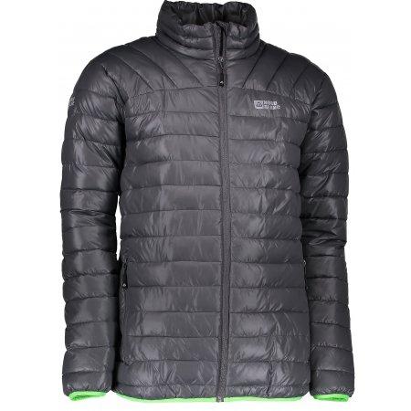 Pánská zimní bunda NORDBLANC CACHE NBWJM6411 ŠEDÁ