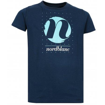 Dívčí tričko NORDBLANC SPIN NBFKT6575L TEMNÁ MODRÁ