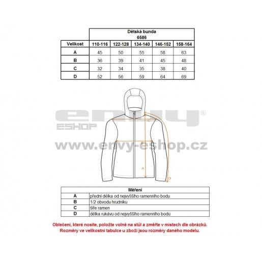 Chlapecká softshellová bunda NORDBLANC BEAU NBWSK6586S BAKOVA MODRÁ