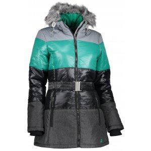 Dámská zimní bunda ALPINE PRO MARRIOTA LJCK168 ČERNÁ