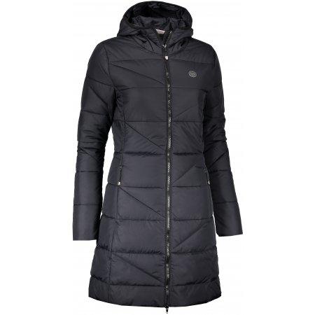 Dámský zimní kabát NORDBLANC TINT NBWJL6428 ČERNÁ