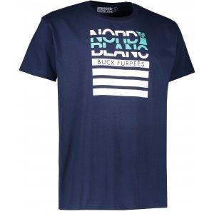 Pánské triko NORDBLANC BUCK NBFMT6542 TEMNÁ MODRÁ