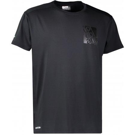 Pánské sportovní triko NORDBLANC SQUARE NBFMF6511 ČERNÁ