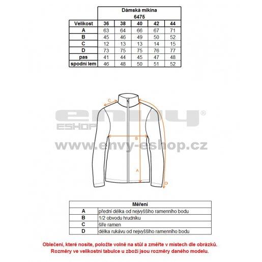 Dámská fleece mikina NORDBLANC CURT NBWFL6475 FIALOVÁ