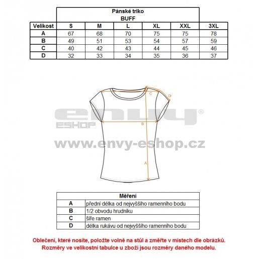 Pánské tričko s krátkým rukávem ALPINE PRO BUFF MTSJ300 TMAVĚ MODRÁ