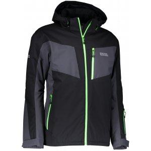 Pánská lyžařská bunda NORDBLANC CONCRETE NBWJM6402 ČERNÁ