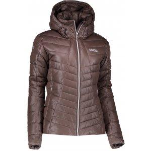 Dámská zimní bunda NORDBLANC LAVISH NBWJL6427 TEMNĚ HNĚDÁ