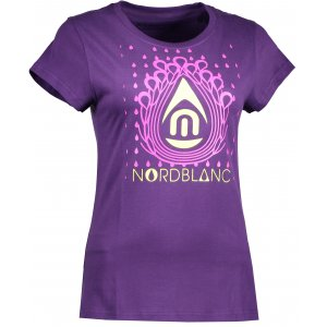 Dámské tričko NORDBLANC DROP NBFLT6560 FIALOVÁ