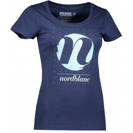 Dámské tričko NORDBLANC CYCLE NBFLT6559 TEMNÁ MODRÁ