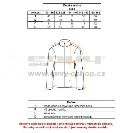 Chlapecká fleecová mikina NORDBLANC DUCKY NBWFK6581L ČERNÁ