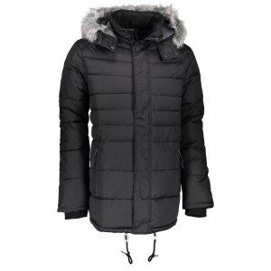 Pánská zimní bunda ALPINE PRO INDEX MJCK192 ČERNÁ