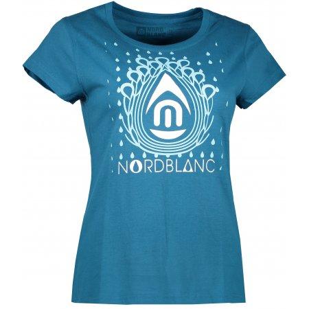 Dámské tričko NORDBLANC DROP NBFLT6560 BAKOVA MODRÁ
