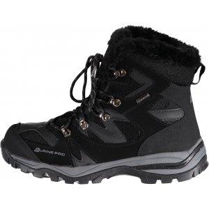 Pánská zimní obuv ALPINE PRO LABAB MBTK129 ČERNÁ