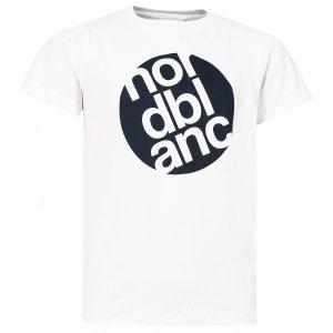 Chlapecké tričko NORDBLANC DOT NBFKT6571L BÍLÁ