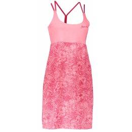 Dámské šaty ALPINE PRO PERENA 2 LSKL096 SVĚTLE RŮŽOVÁ