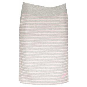 Dámská sukně ALPINE PRO MANIQUA 2 LSKL097 SVĚTLE ŠEDÁ