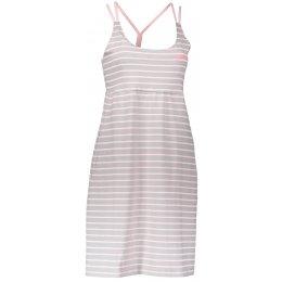 Dámské šaty ALPINE PRO PERENA 2 LSKL096 SVĚTLE ŠEDÁ
