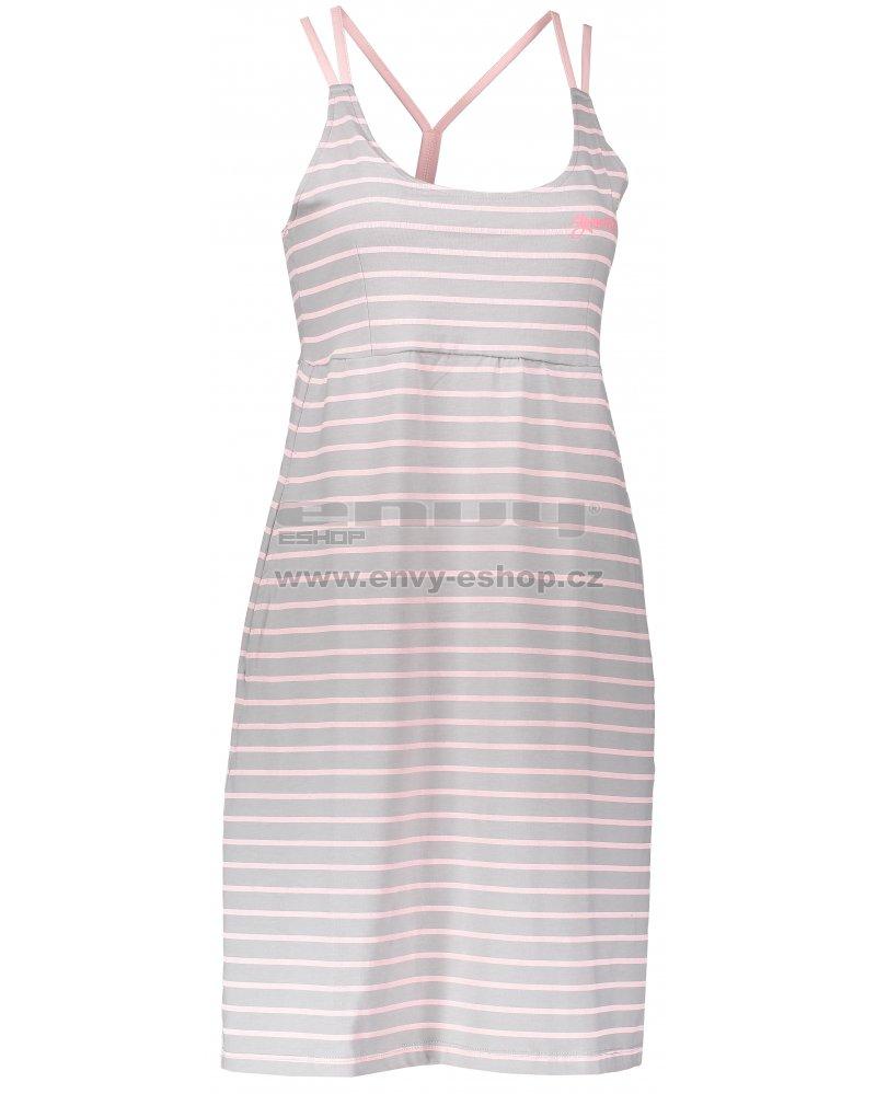 9d77bfc67314 Dámské šaty ALPINE PRO PERENA 2 LSKL096 SVĚTLE ŠEDÁ velikost  L ...