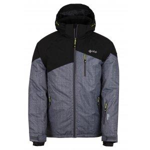Pánská zimní bunda KILPI OLIVER-M HM0076KI TMAVĚ ŠEDÁ