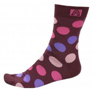 Dámské ponožky ALTISPORT DERIBA ALSW17404 TMAVĚ ČERVENÁ