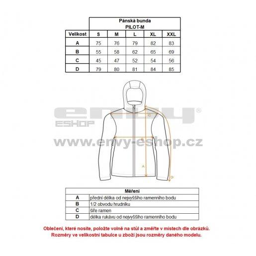 Pánská zimní bunda KILPI PILOT-M HM0109KI KHAKI
